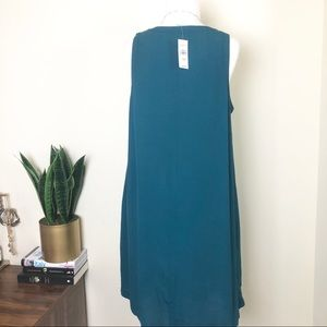LOFT Dresses - Loft emerald green dress
